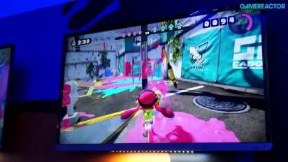 E3 2014: Splatoon- Gameplay