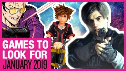Games om naar uit te kijken - Januari 2019