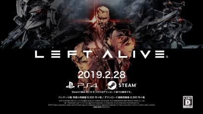 Left Alive - Launch Trailer