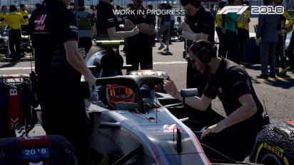 F1 2018 - Making Headlines Career Developer Diary