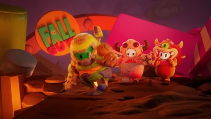 Fall Guys: Ultimate Knockout - Doom Costumes Trailer