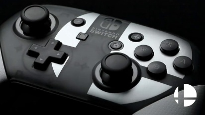 Pro Controller Super Smash Bros. Ultimate Edition - Reveal Trailer