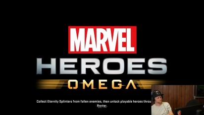 Marvel Heroes Omega - Livestream Replay Part 2