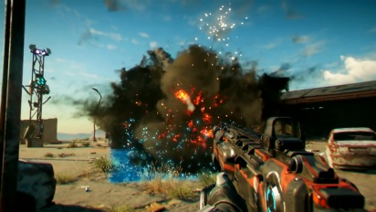 Rage 2 - Weapons and Abilities Gameplay