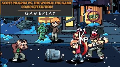 Scott Pilgrim vs. The World: The Game Complete Edition - Gameplay