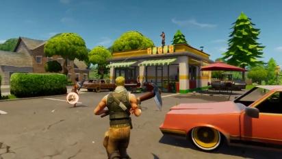 Fortnite Battle Royale Gameplay Trailer Play Free Sept 26