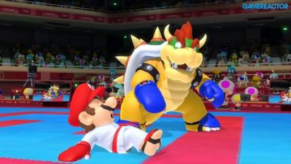 Mario & Sonic op de Olympische Spelen: Tokio 2020 - Karate-Kumite Gameplay