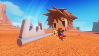 World of Final Fantasy - Sora DLC - Japanse trailer