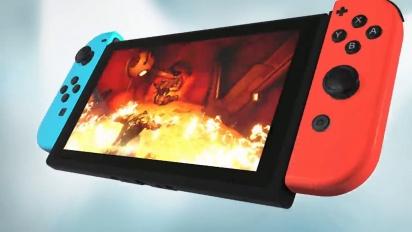 Warframe - Nintendo Switch Reveal Trailer - TennoCon 2018