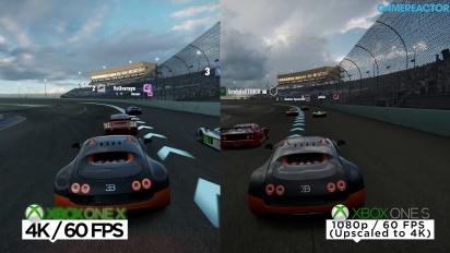 Forza Motorsport 7 - 4K Vergelijkingsvideo