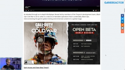 GRTV News -   Call of Duty: Black Ops Cold War Gameplay Preview and Beta dates