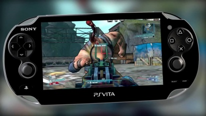 Borderlands 2 - New PS Vita Trailer
