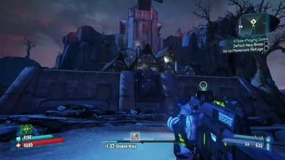 Borderlands 2 - Tiny Tina's Assault on Dragon Keep First 5 minutes gameplay