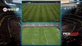 Fifa 18 vs. PES 2018 Vergelijking