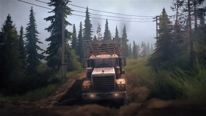 Spintires: MudRunner - American Wilds - Launch Trailer