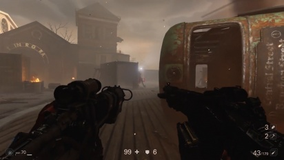 Wolfenstein II: The New Colossus - Nazis in  New Orleans Gameplay