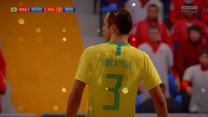 FIFA World Cup 2018 - Brazilië vs Zwitserland
