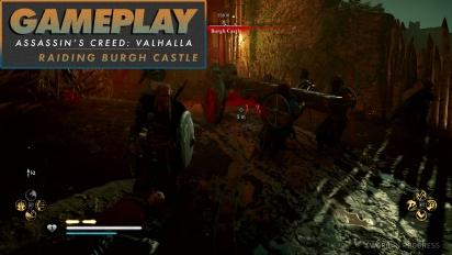Assassin's Creed Valhalla - Gameplay #3 Raiding Burgh Castle