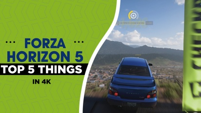 Forza Horizon 5 - Top 5 Things Preview (4K)