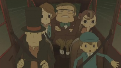 Professor Layton and the Lost Future - Debut Trailer
