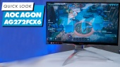 AOC Agon AG272FCX6 - Quick Look