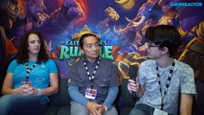Hearthstone: Rastakhan's Rumble - Seyil Yoon and Liv Breeden Interview