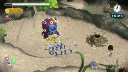 Wii U - Pikmin 3 DLC Trailer