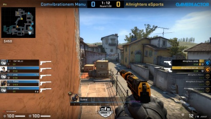 OMEN by HP Liga - Divison 8 Round 8 - Comvibrationem Manu vs Allnighters eSports on Inferno.