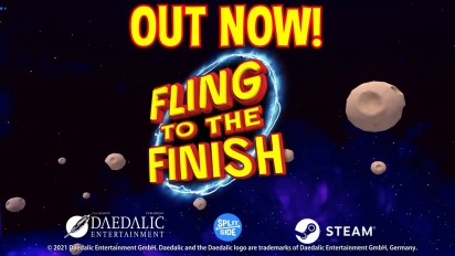 Fling to the Finish - Steam Early Access Trailer