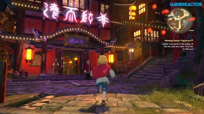 Ni no Kuni II: Revenant Kingdom - Chapter 3 Gameplay