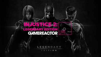 Injustice 2: Legendary Edition - Livestream Replay in 4K