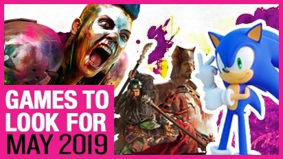Games om naar uit te kijken - Mei 2019