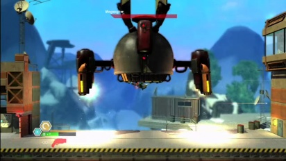 Bionic Commando: Rearmed 2 - MegaCopter Trailer