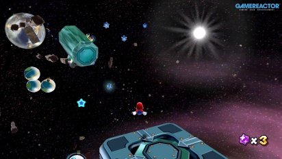 Super Mario Galaxy on Nintendo Switch: Space Junk Galaxy Gameplay