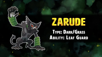 Pokemon Sword/Shield - Zarude the Rogue Monkey Pokémon