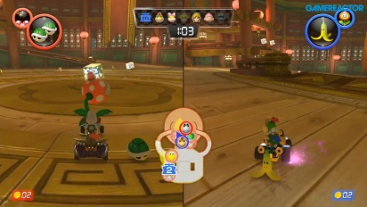 Mario Kart 8 Deluxe - Piranha Plants vs. Spies 1080p60 Gameplay