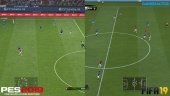 FIFA 19 vs PES 2019 - Full-HD Graphicsvergelijking