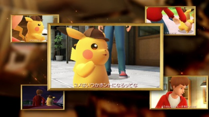 Detective Pikachu: Birth of a New Duo - Announcement Trailer (Japanese)