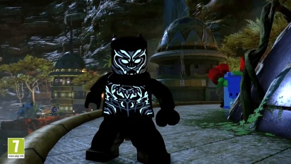 Lego Marvel Super Heroes 2 - Black Panther DLC Trailer