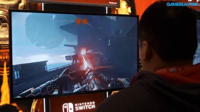 Wolfenstein II: The New Colossus on Switch - PAX 2018 Gameplay