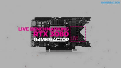 Benchmarking of the MSI RTX 3080 Gaming X Trio - Livestream replay