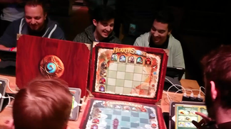 Hearthstone the boardgame